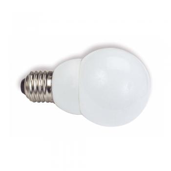 10 Bombillas bajo consumo tipo mini globo E27 de 14W - 800 Lm cálido