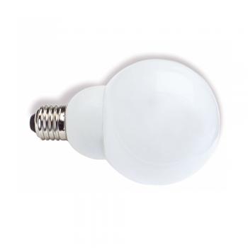 5 Bombillas bajo consumo tipo globo E27 de 23W - 1380 Lm cálido