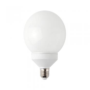 5 Bombillas bajo consumo tipo globo E27 de 30W - 1900 Lm cálido