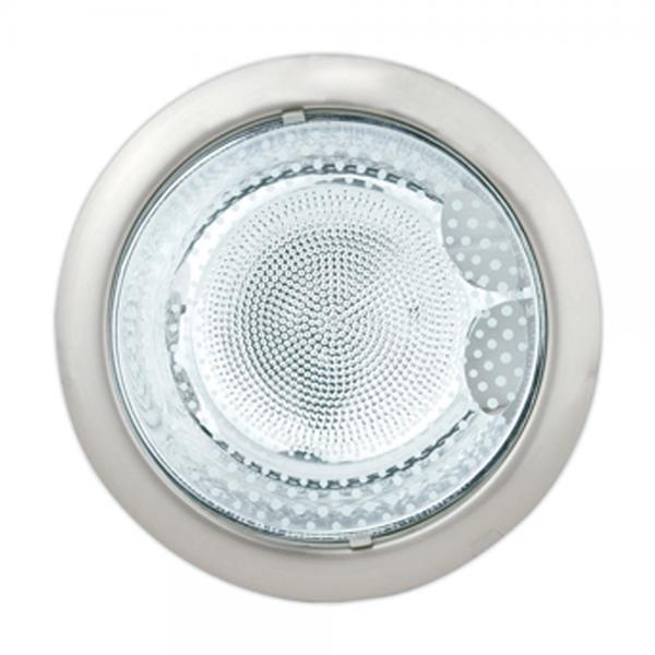 Iluminacion Baño Downlight:ILUMINACION INTERIOR > Lamparas empotrables > Downlight níquel mate
