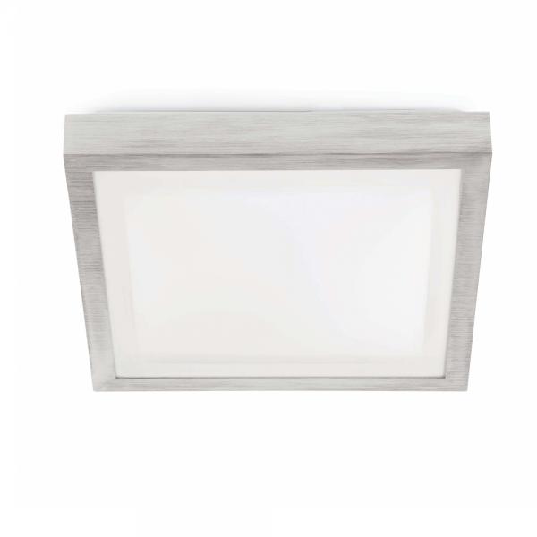 Lamparas De Bajo Consumo Para Baño: Elegan en gris, protec IP44 clase II y una bajo consumo de 20W