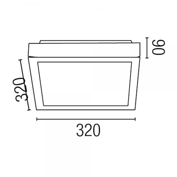Lamparas De Bajo Consumo Para Baño: Elegan en blanco, protec IP44 clase II y dos bajo consumo de 20W