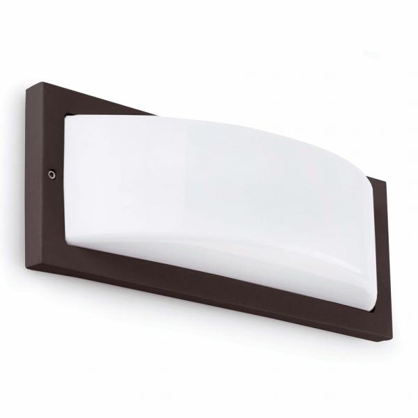 Iluminacion Baño Oscuro: de pared > Aplique de pared en color gris oscuro y portalámpara E27