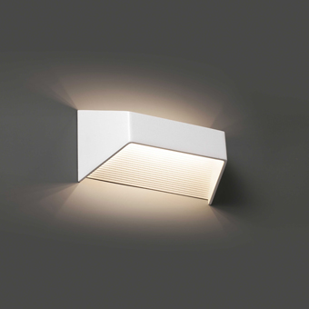 Aplique vanguardista bañador de pared de LED de 6W 600 Lm