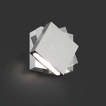 Aplique vanguardista bañador de pared con LED de 3W giratorio