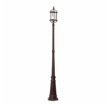 Street Light Brown Classic Style With A Energy Saving