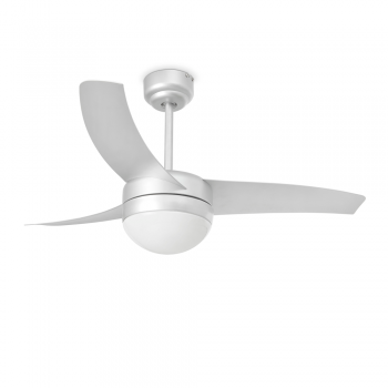 Trendy style fan in gray with Eco Bulb 28W