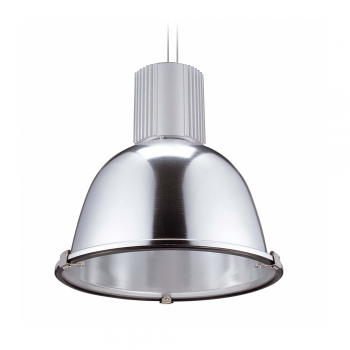Industrial design Light with matt nickel Eco 70W bulb