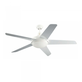 Ceiling fan with two blank Cool Eco 28W bulb