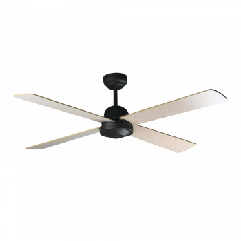 Minimal style fan in brown oxide with remote control