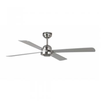 Minimal style fan matt nickel color with remote control