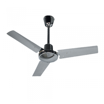 Basic Ceiling Fan, Chrome with color wall regulator