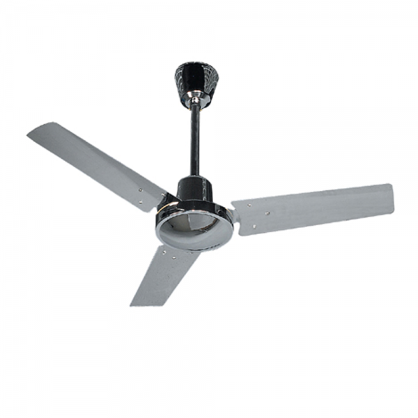 Basic ceiling fan chrome with color wall regulator aloadofball