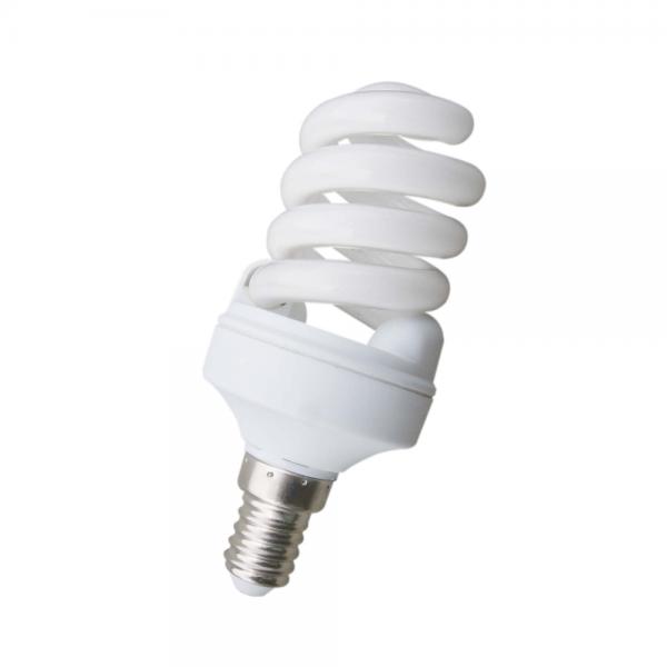 10 bombillas bajo consumo microespiral e27 de 11w 530 lm for Bombilla bajo consumo e27