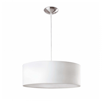 Modern white pendant lamp with three bulbs Eco 42W
