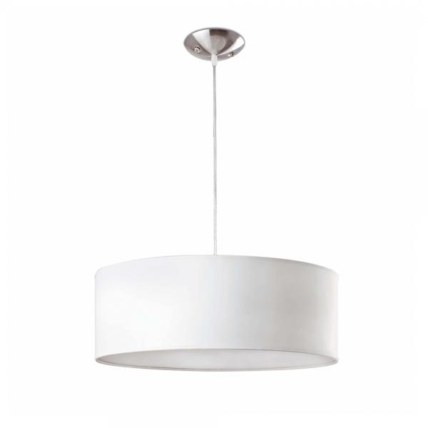 Modern white pendant lamp with two 42w bulbs eco modern white pendant lamp with three bulbs eco 42w aloadofball Choice Image