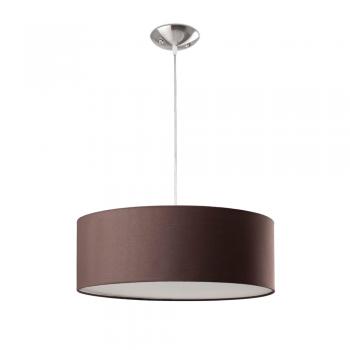 Lámpara colgante chocolate estilo moderno con tres portalámparas E27