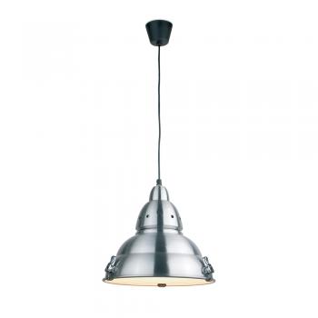 Lámpara de diseño futurista en aluminio y cristal