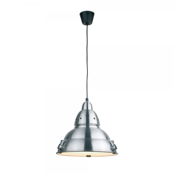 L mpara de dise o futurista en aluminio y cristal con for Lamparas de exterior de diseno