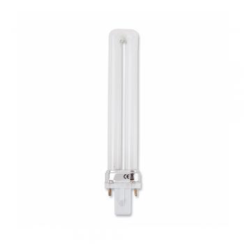 10 bombillas bajo consumo tipo pl g23q 1 de 9w 475 lm fr o for Bombillas bajo consumo