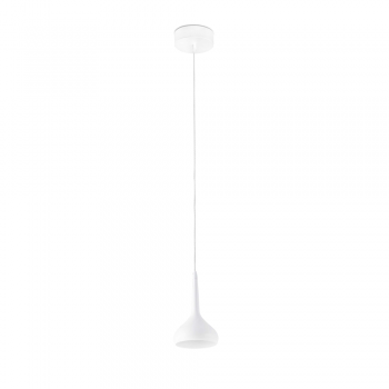 Pendant Light with LED technology White 8W warm tone