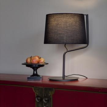 Nirb lámpara de sobremesa negra