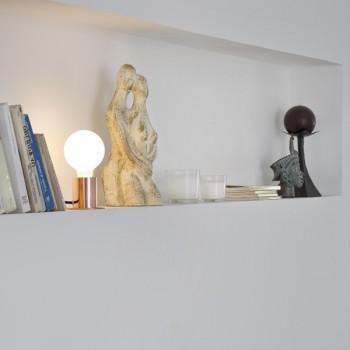 Lámpara de sobremesa cobre