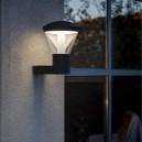 Milta baliza LED gris oscuro pequeña