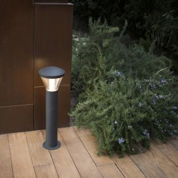 Milta baliza LED gris oscuro grande