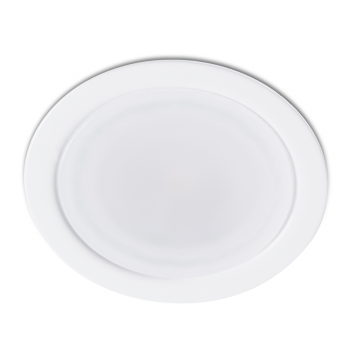 Mini empotrable blanco de LED de 3,5W en luz cálida .
