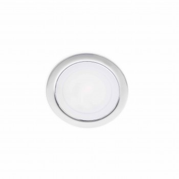 Mini empotrable cromo de LED de 3,5W en luz cálida