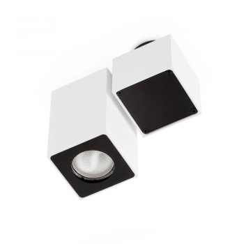 Luminaria trendy de techo blanca 110 H mate