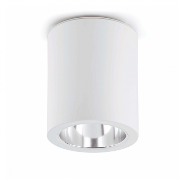 Downlight de superficie blanco