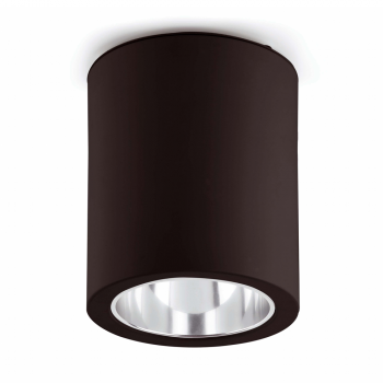Downlight de superficie negro