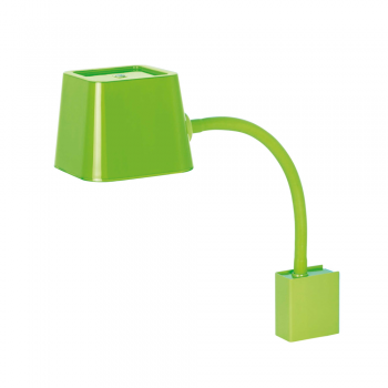 Chic Wall lamp in green with energy saving lamp 15W