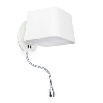 Lamp Cool white screen in Eco bulb 28W and 1W LED