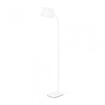 Lámpara de pie Chic en blanca con portalámpara E27