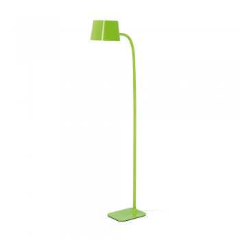 Chic lamp in green with energy saving lamp 15W
