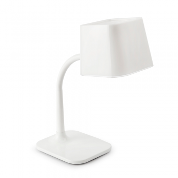 Blank Chic table lamp with 15W energy saving lamp