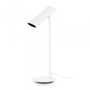 White trendy table lamp energy saving lamp 11W