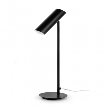 Trendy black table lamp energy saving lamp 11W