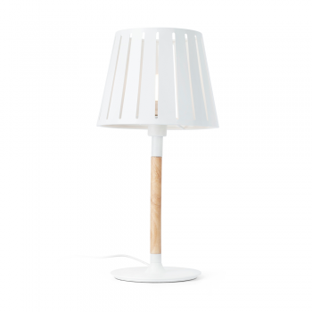 Table lamp blank factory inspired wood and Eco 42W bulb