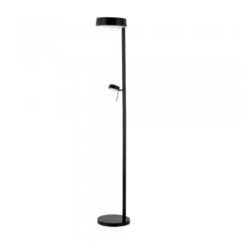 Minimal floor lamp in black with energy saving light bulb 15w and minimal floor lamp in black with energy saving light bulb 15w and 28w g9 mozeypictures Gallery
