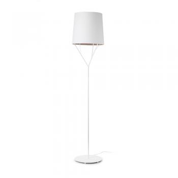 Lámpara de pie Neo trendy blanca