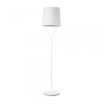 Trendy floor lamp white Neo Eco 42W bulb