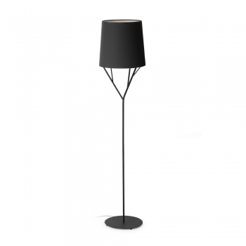 Lamp black trendy Neo Eco 42W bulb