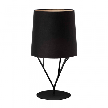 Table lamp black trendy Neo Eco 42W bulb