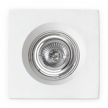 Luminaria empotrable blanca para lámpara AR111