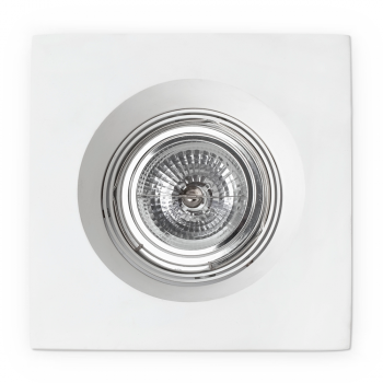 White Recessed 50W lamp and transformer