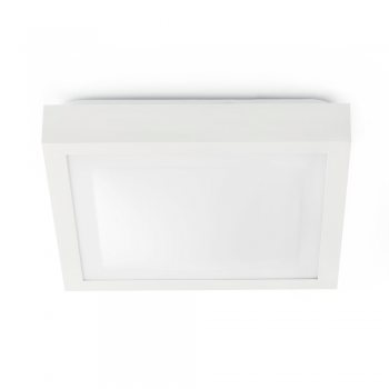 Elegan white ceiling, protection IP44 Class II and two saving 20W